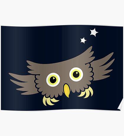 Flying Owl VRS2 Poster