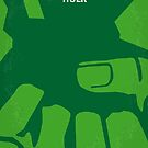 No040 My HULK minimal movie poster by Chungkong