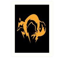 Metal Gear Solid - Fox Art Print