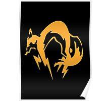 Metal Gear Solid - Fox Poster