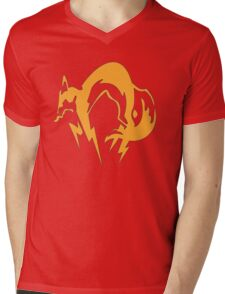 Metal Gear Solid - Fox Mens V-Neck T-Shirt