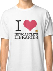 I Love Newcastle Libraries Classic T-Shirt