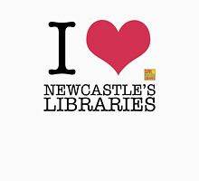 I Love Newcastle Libraries Unisex T-Shirt