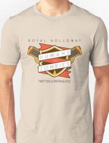 Humans Vs Zombies // Royal Holloway Unisex T-Shirt