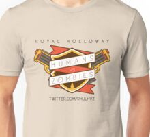 Humans Vs Zombies // Royal Holloway Unisex T-Shirt
