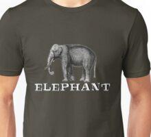 Elephant. Unisex T-Shirt