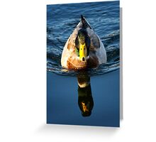 Body To Reflection ... What Happened To The Rest Of You? Greeting Card