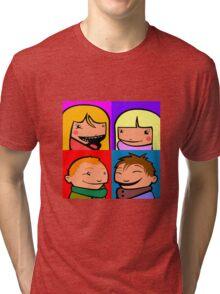 Cooper Kids Character Portrait Tri-blend T-Shirt