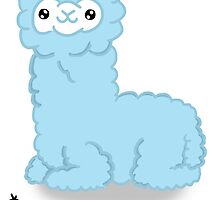 *NOT A LLAMA (Blue) by conspicuousdino