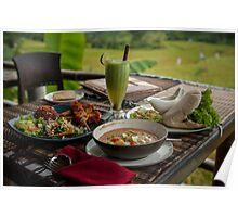 Lunch at Sari Organik Poster
