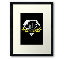 Metal Gear Solid - Diamond Dogs Framed Print
