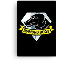 Metal Gear Solid - Diamond Dogs Canvas Print