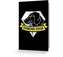 Metal Gear Solid - Diamond Dogs Greeting Card