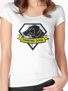 Metal Gear Solid - Diamond Dogs Women's Fitted Scoop T-Shirt