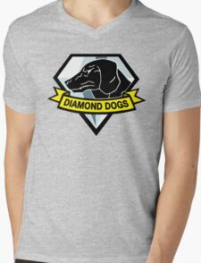 Metal Gear Solid - Diamond Dogs Mens V-Neck T-Shirt