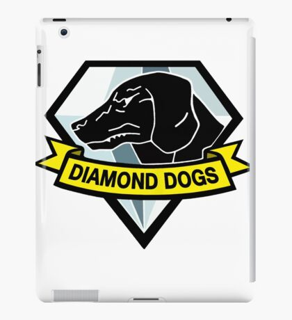 Metal Gear Solid - Diamond Dogs iPad Case/Skin