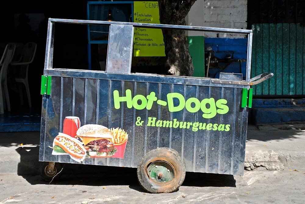 hotdog by richard  webb