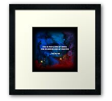 How do people ever get bored? How did boredom even get invented? Framed Print