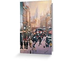 Fleet Street Greeting Card