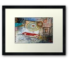 Being Square Framed Print