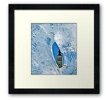 Freezing Tallinn Framed Print