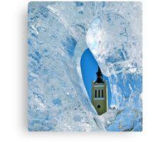 Freezing Tallinn Canvas Print