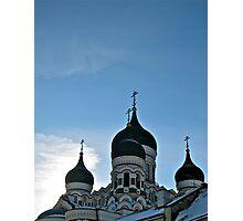 Orthodox Sky Photographic Print
