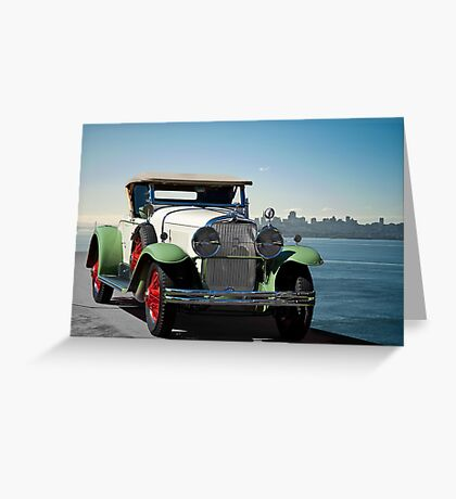 1929 Cadillac 341B Greeting Card