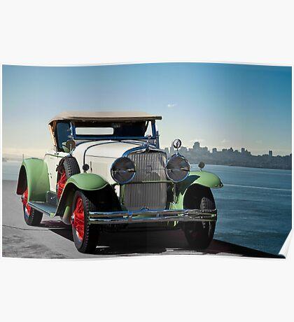 1929 Cadillac 341B Poster
