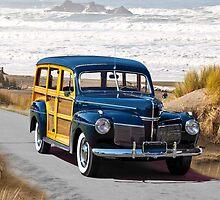 1941 Mercury 'Woody' Station Wagon by DaveKoontz