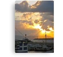 A Greek Feeling Canvas Print
