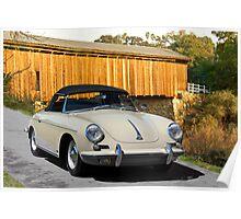 1960 Porsche 356 Roadster Poster