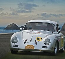 1956 Porsche Rally Car by DaveKoontz