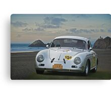 1956 Porsche Rally Car Canvas Print