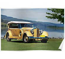 1934 Packard Touring Super Eight Poster