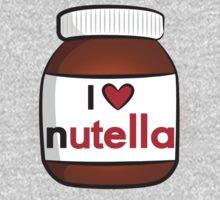 I <3 Nutella One Piece - Long Sleeve