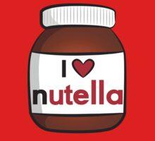 I <3 Nutella One Piece - Short Sleeve