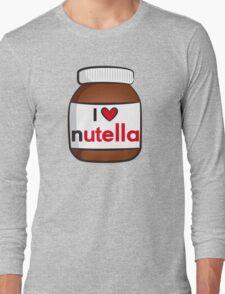 I <3 Nutella Long Sleeve T-Shirt