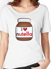 I <3 Nutella Women's Relaxed Fit T-Shirt