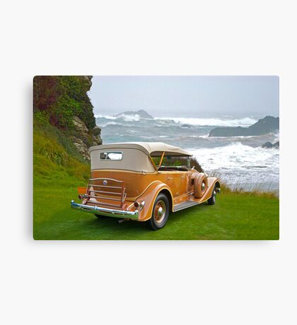 1934 Packard Touring Super Eight Canvas Print