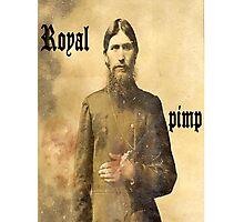Rasputin is the man Photographic Print