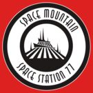 Space Mountain Space Station 77 by AngrySaint