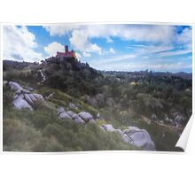 Fairy Tale Pena Palace Poster