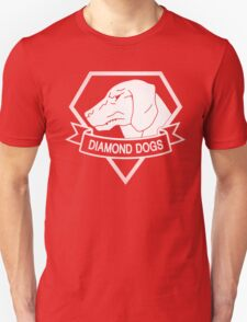 Metal Gear Solid - Diamond Dogs - White T-Shirt