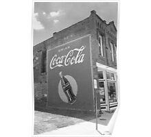 Route 66 - Coca Cola Mural Poster