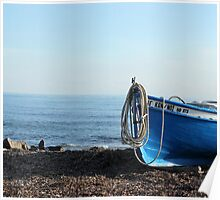 A fisherman's boat  Poster