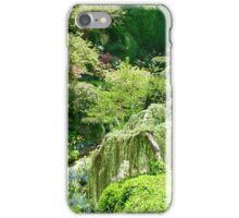 Butchart Gardens BC Canada iPhone Case/Skin