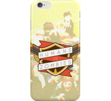 Humans Vs Zombies iPhone Case/Skin