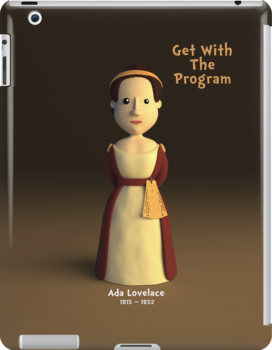 Ada Lovelace - Get With The Program by chayground