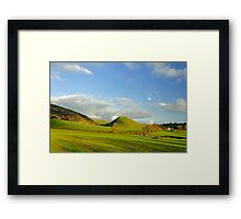 The Walk Between Ilam and Dovedale Framed Print
